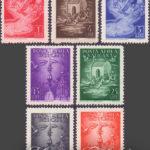 Posta aerea vaticana del 1947 ★★