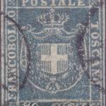 20 Centesimi azzurro grigio usato