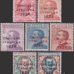 Crociera Italiana 1924 centrati ★★