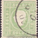 3 Soldi verde giallo usato