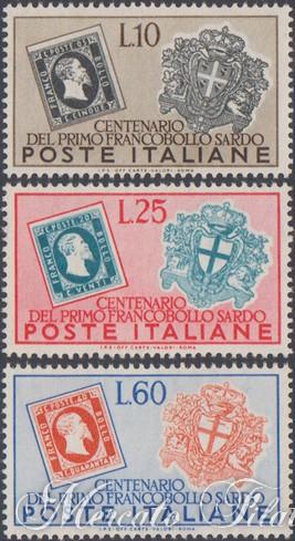 centenario francobolli di sardegna