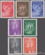 Posta aerea vaticana del 1947 centrati ★★