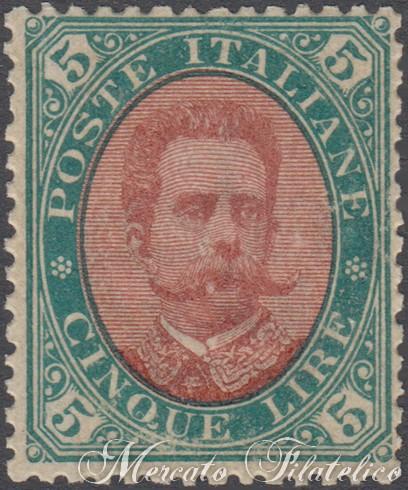 5 lire 1889