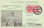 Cartolina esperimento di Posta Aerea 1917