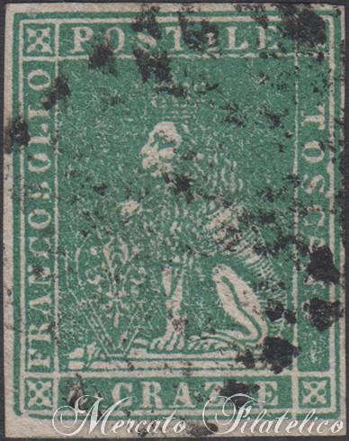 4 crazie verde 1857