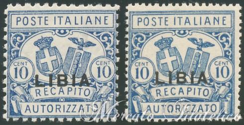 Recapito autorizzato francobolli colonie italiane libia for Recapito postale