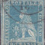 2 Crazie azzurro chiaro su grigio usato