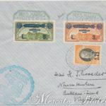 Aerogramma Crociera Zeppelin 3 + 5 Lire San Marino