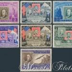 Centenario del primo francobollo americano P.O. + P.A. ★★