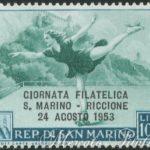 5° giornata filatelica San Marino-Riccione ★★