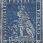 6 Crazie azzurro su grigio usato