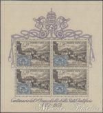Foglietto Centenario dei Francobolli ★★