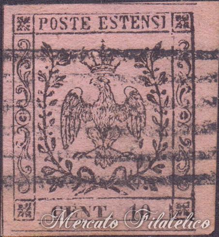10 centesimi rosa chiaro