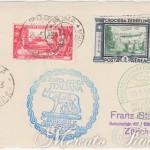 Cartolina Zeppelin Roma-Zurigo