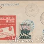 2° Giornata Filatelica Aretina su buste ufficiali
