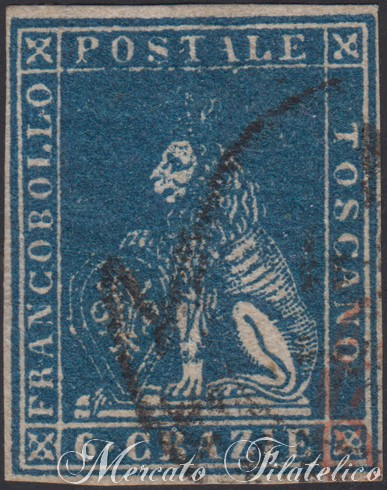 toscana 6 crazie 1857
