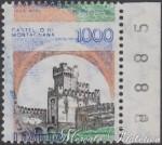 """1000 Lire """"Castelli"""" con doppia varietà ★★"""