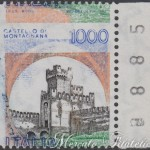 1000 lire castelli varieta