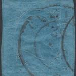 sardegna 1853 20 centesimi azzurro