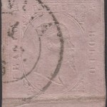 sardegna 1853 40 centesimi rosa chiaro