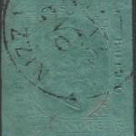 sardegna 1853 5 centesimi verde