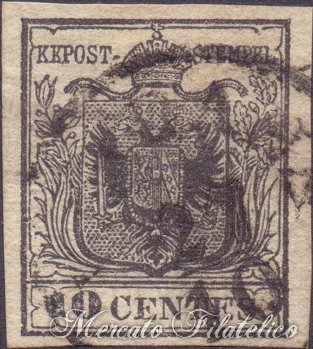 10 centesimi nero