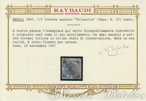 trinacria certificato raybaudi