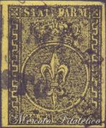 5 Centesimi giallo usato