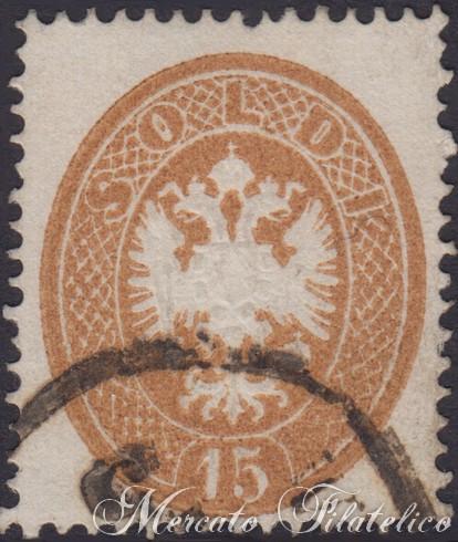 15 soldi bruno 1863