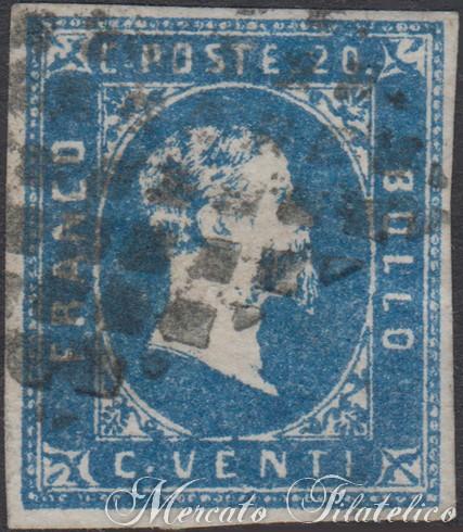 20 centesimi azzurro