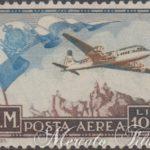 1000 lire aereo e bandiera