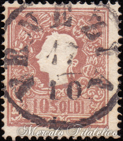 10 soldi bruno 1859