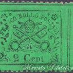 2 Centesimi verde giallo ★