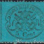 5 centesimi azzurro chiaro