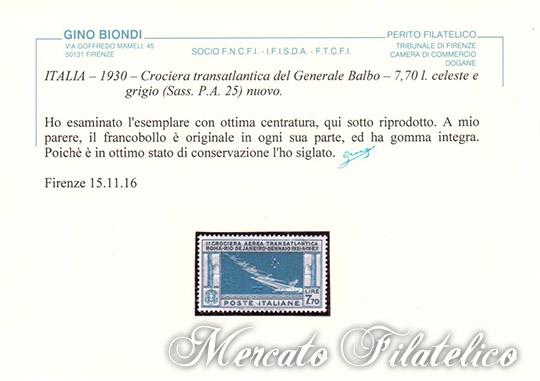 crociera-roma-rio-certificato