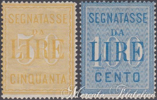 segnatasse 1903