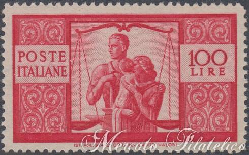 100 lire democratica