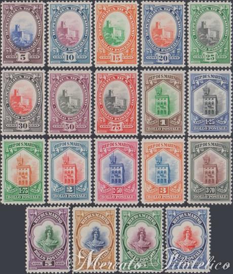 serie ordinaria 1929
