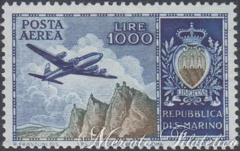 1000 lire aereo