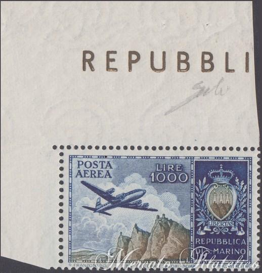 aereo e veduta 1954