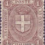 1 cent stemma dei savoia