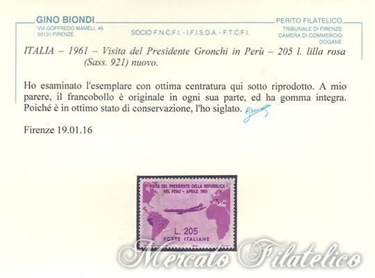 gronchi rosa certificato