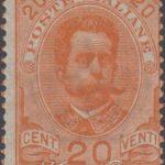 20 centesimi arancio