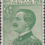 20 Centesimi verde Vittorio Emanuele centrato ★★