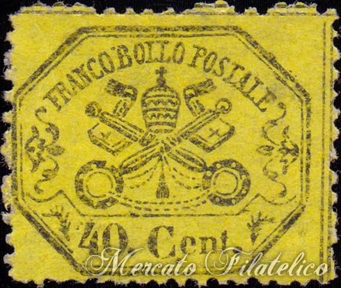 40c giallo limone