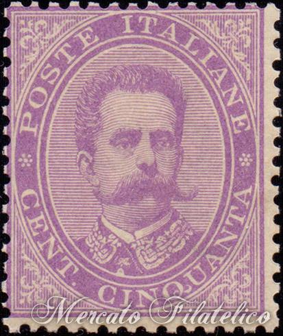 50c violetto 1879