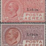 posta aerea 1928 libia