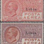 posta aerea 1928 libia