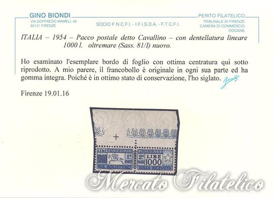cavallino bordo di foglio certificato