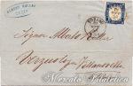 Lettera con 20 Centesimi indaco Torino – Verzuolo